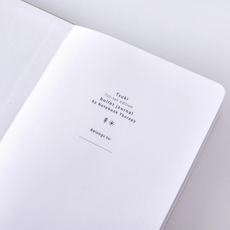 Tsuki 'Fuji-San' Limited Edition Bullet Journal ☾