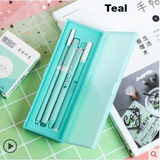 Sakura Petals Set - 4 Pens + Case Included!