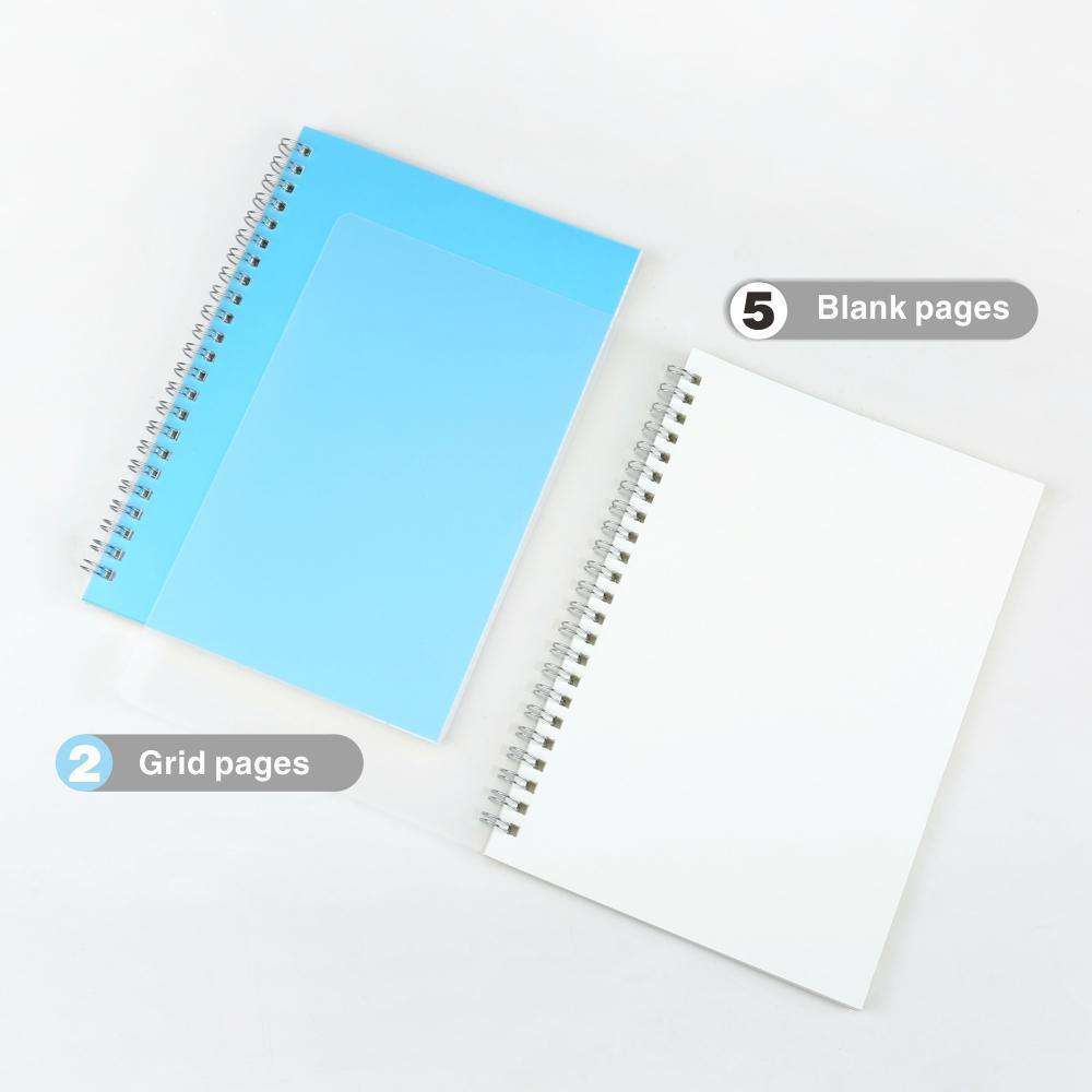 keep writing high quality plain notebooks all page types
