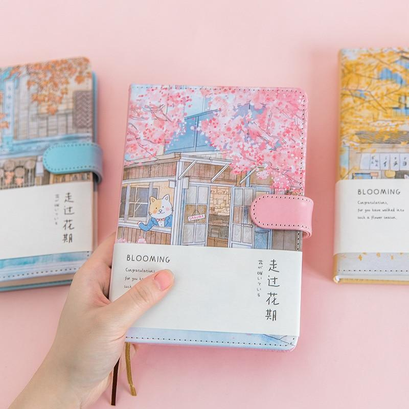 Romantic Cherry Blossom Notebook