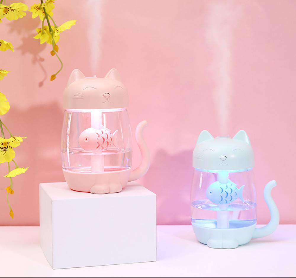 Pastel Cat USB Diffuser + Night Light