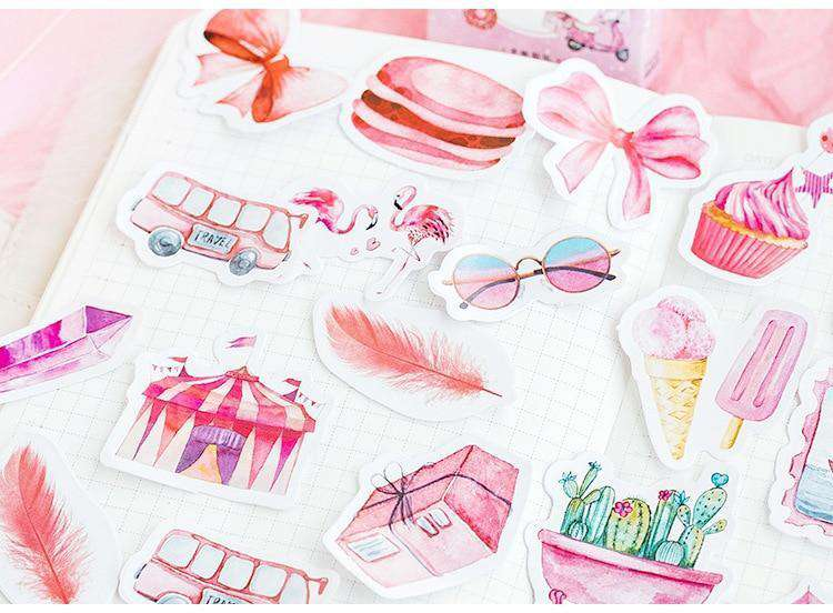 Pink Dreams Sticker Set