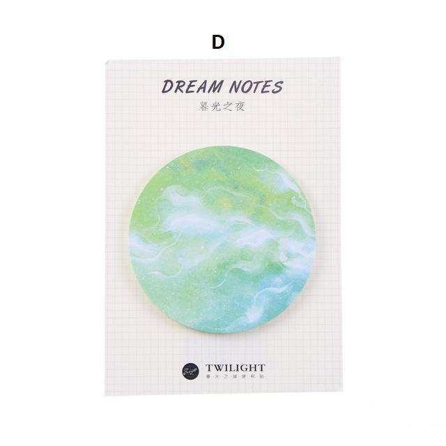 Dreams and Wishes Sticky Notes