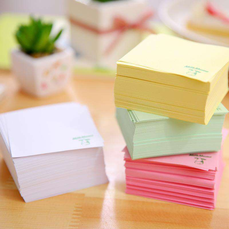 Japanese Drinks Carton Memo Pads