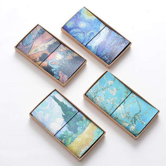 Van Gogh Leather Travel Planner