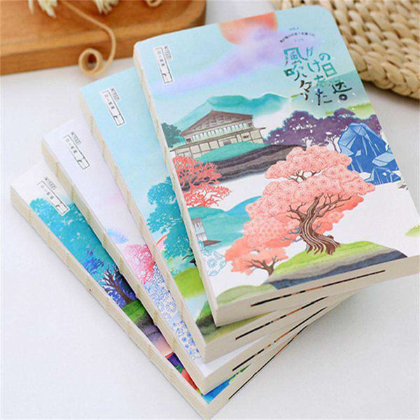 Japanese Notebook Paper 'Sights Of ...