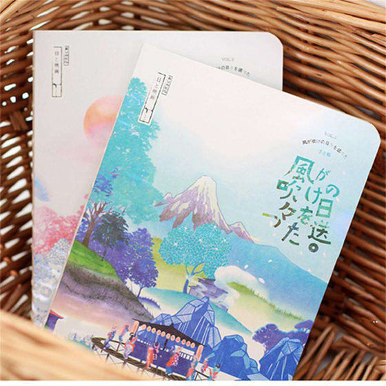 'Sights Of Japan' Collection Notebook