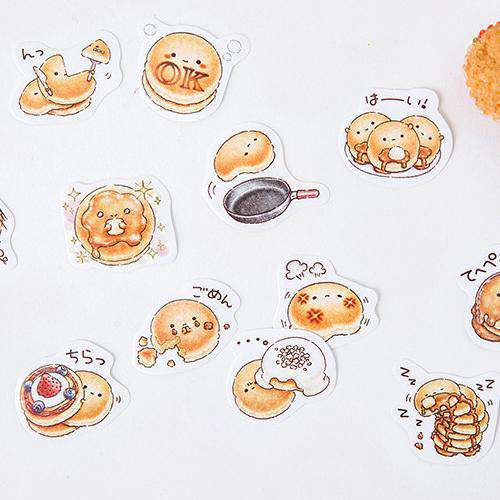 Happy Pancake Sticker Set