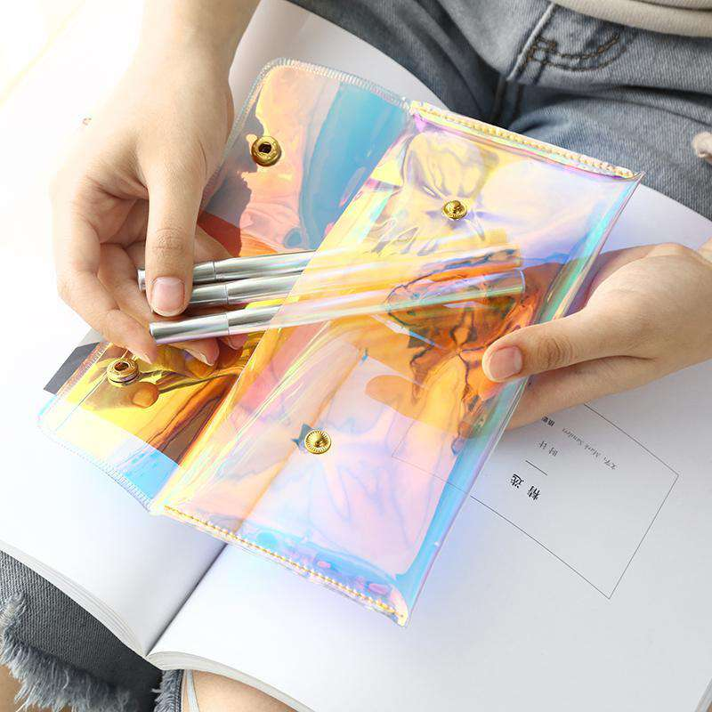 Transparent Laser Pencil Case