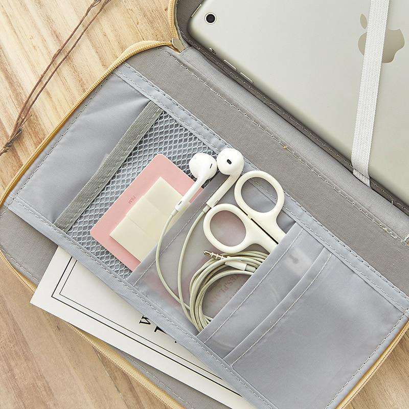 Canvas Large Stationery Organiser