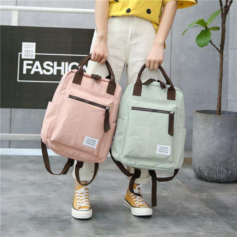 Sylvia Canvas Backpack