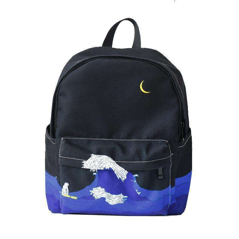 Sea + Moon Backpack