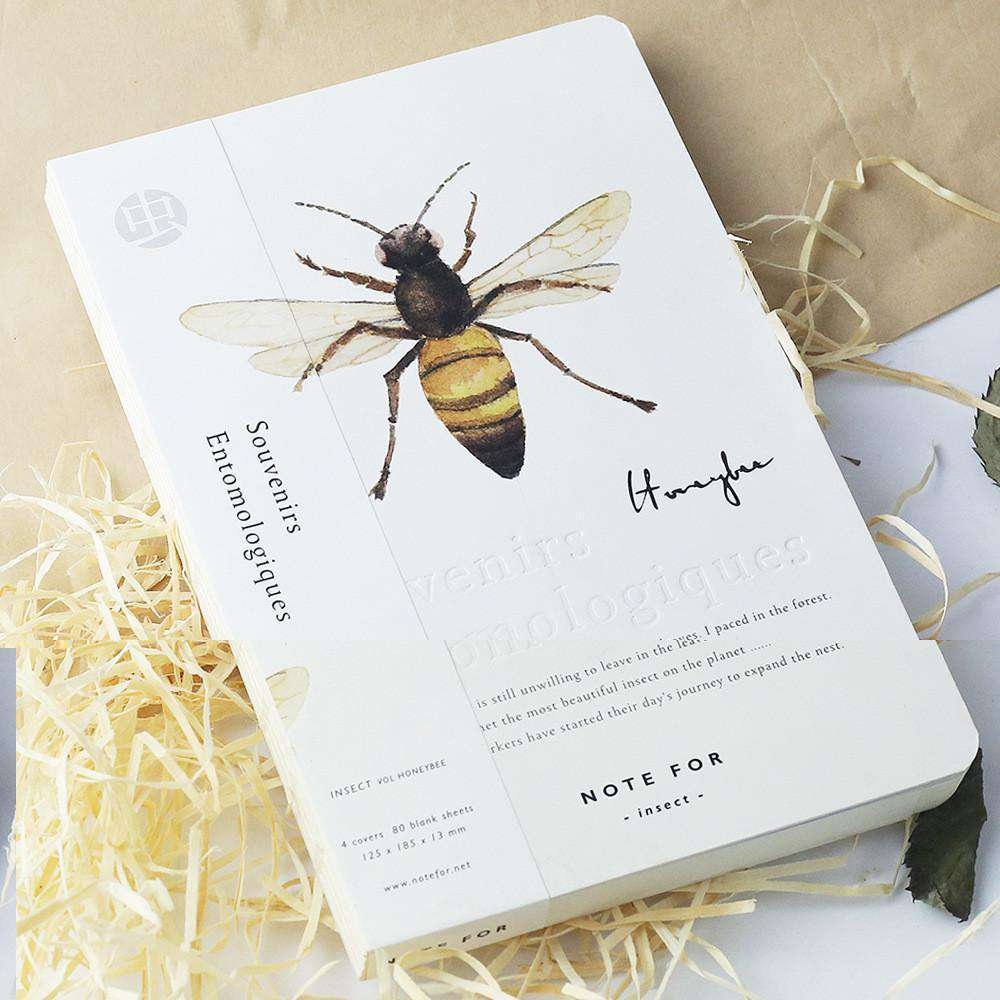 'NOTE FOR' Insects Notebook