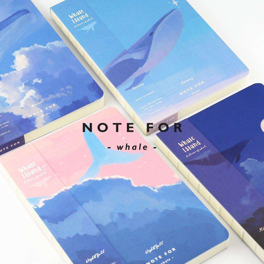 'NOTE FOR' Whale Notebook