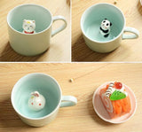 Peeping Animal Teacup
