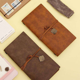 Japanese Leather Travel Notebook