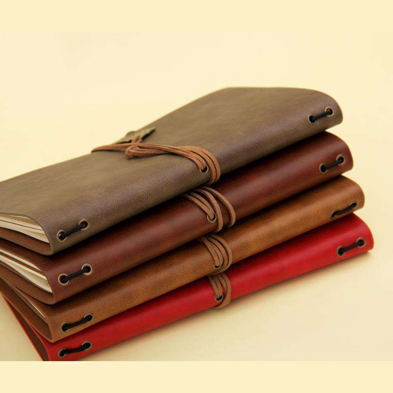 Vegan Leather Travel Notebook