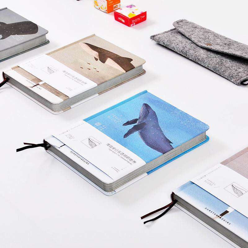 'Our Story Begins' Travel Alone Collection Notebook