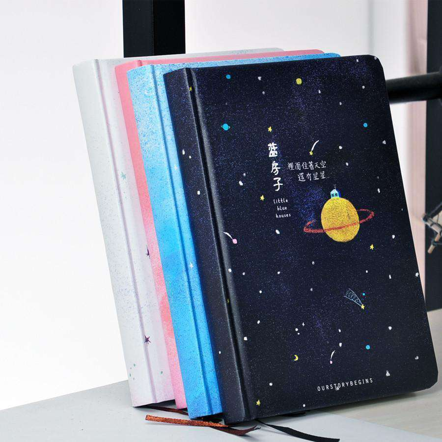 'Our Story Begins' Planetary Collection Notebook