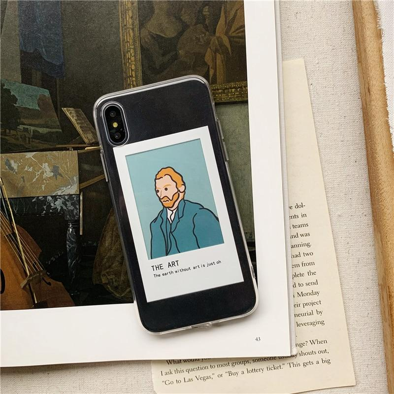 Aesthetic Art iPhone Case + Portrait Cards