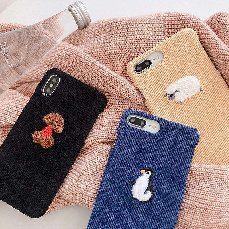 Cheeky Cord iPhone Case