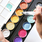 Galaxies Metallic Paint Set