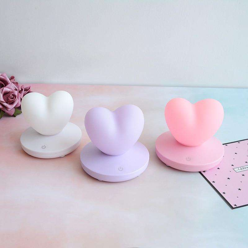 Pastel Hearts USB Night Light