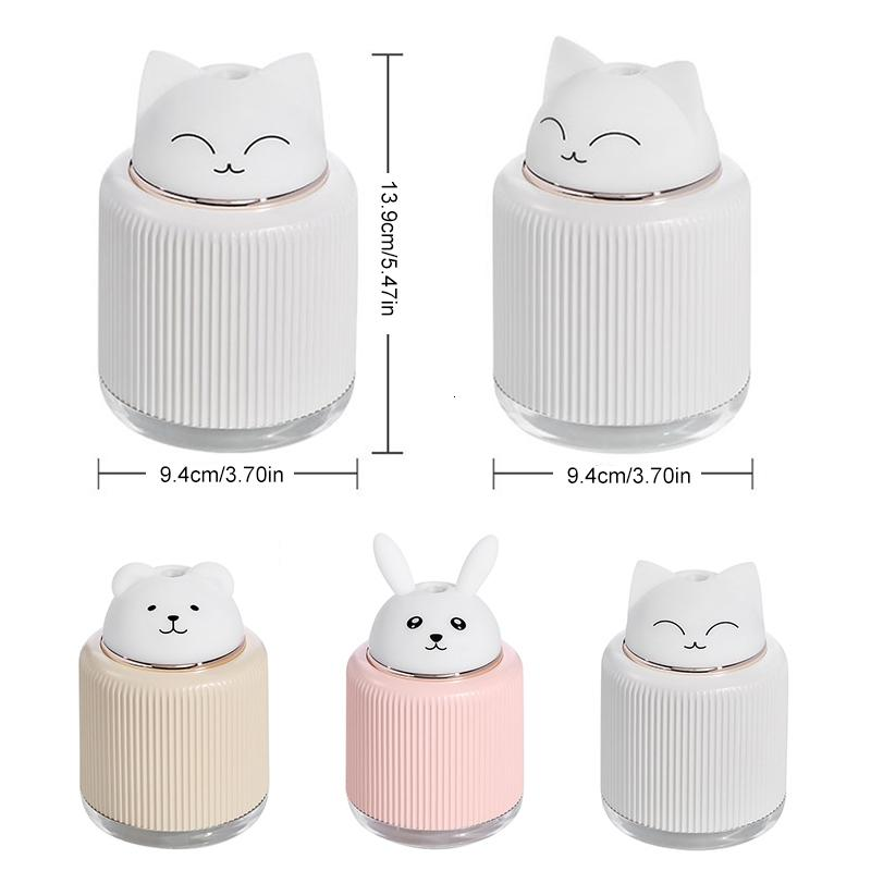 Kawaii Diffuser + Night Light and Fan