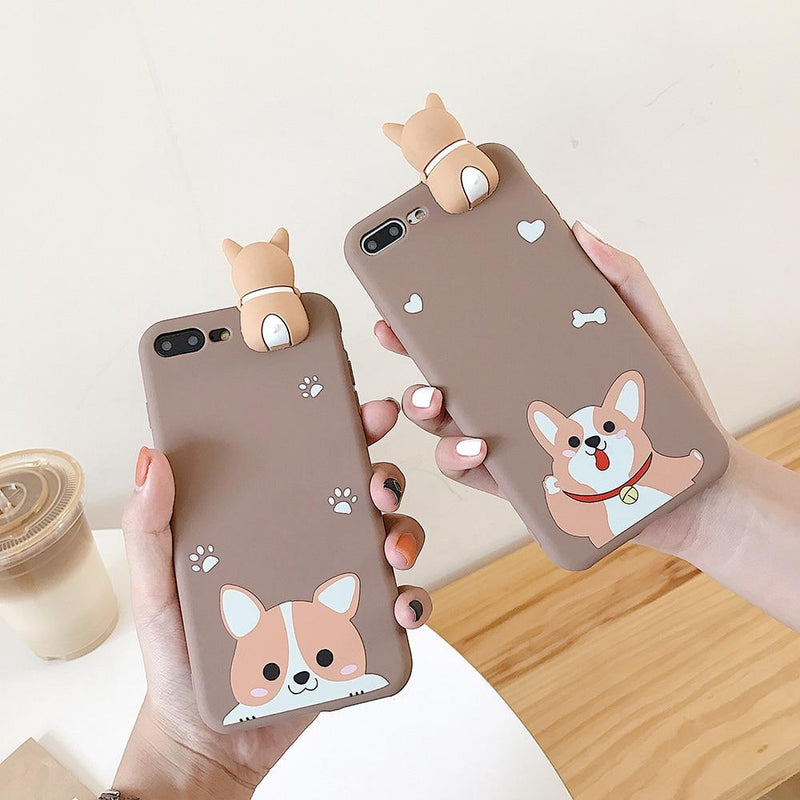 Funny Corgi iPhone Case