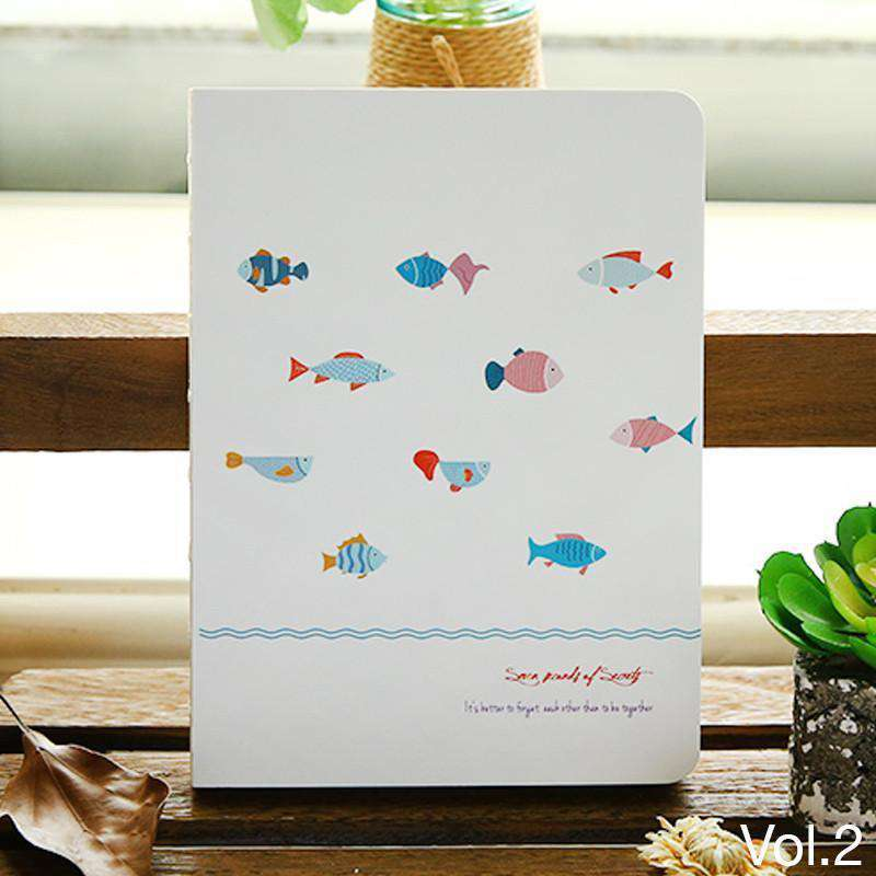 'Yearning Fish' Collection Notebook