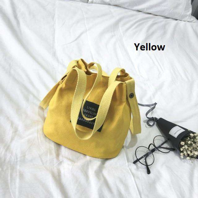 Korean Canvas Tote Bag