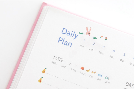 365 Yearly Life Planner