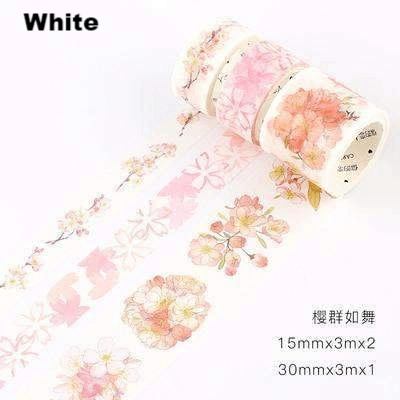 Sakura Washi Tape - Set of 4!