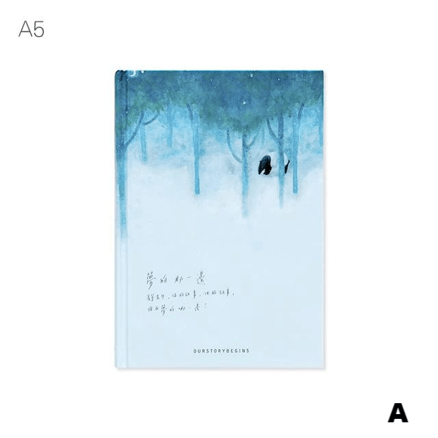 Our Story Begins 'Dreamy Night' Series Notebook