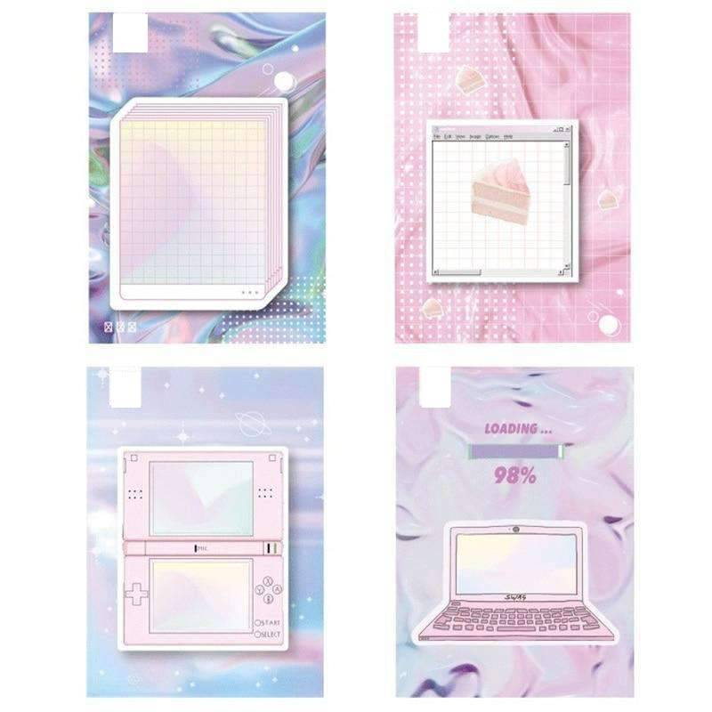 Aesthetic Dreams Sticky Notes - Set of 4!