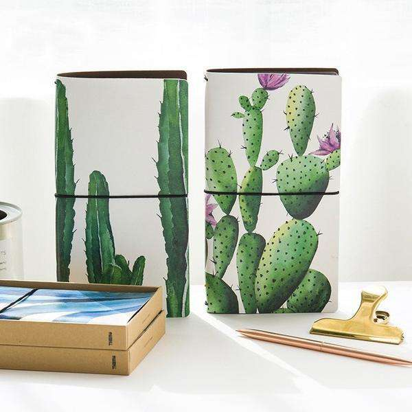 Cactus Leather Travel Planner + 2 inserts