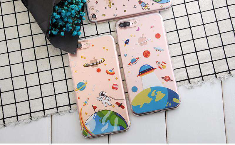 Space Exploring iPhone Case