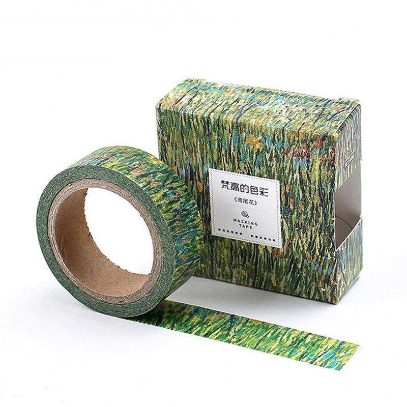 Set of 8 - Van Gogh Washi Tape