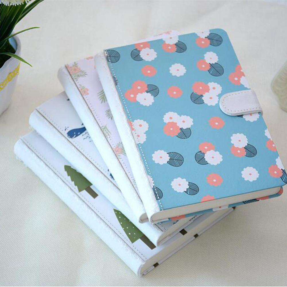 Korean Doodles Hardcover Lined Notebook
