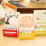 Kawaii Animal Sticky Notes and Index Set