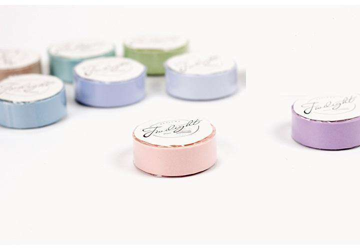 6 or 12 Set of Pastel Washi Tape