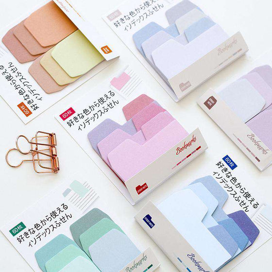 Gradient Sticky Memo Notes