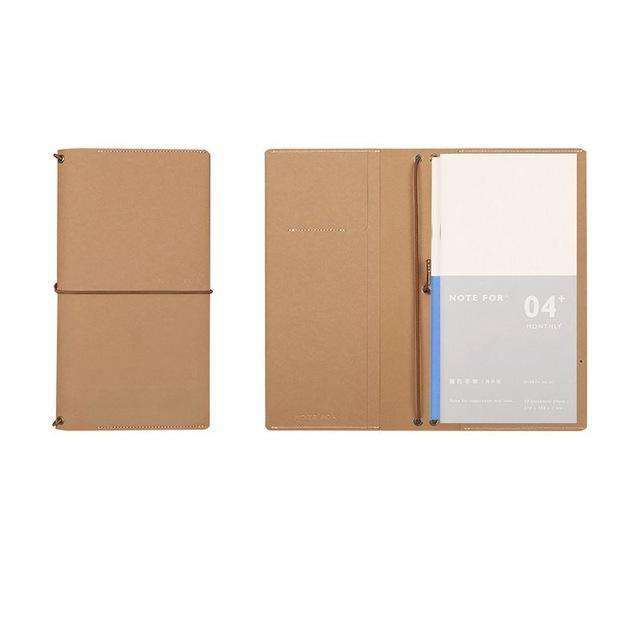 'Note For' Midori Travel Notebook + Insert