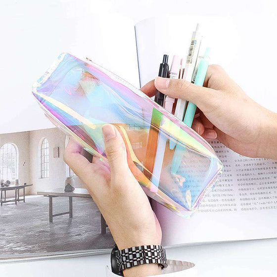 Kawaii Transparent Pencil Case