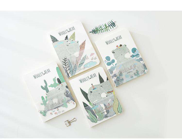 Friendly Woolly Bear Notebooks
