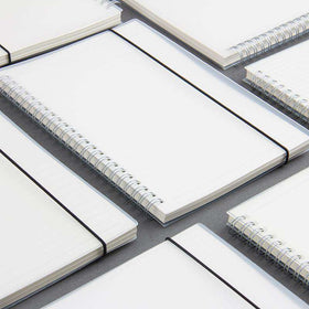 Simple Transparent Dotted Notebook - A5 A6 & B5