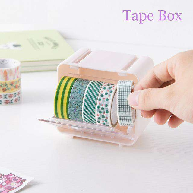 Cute Pastels Washi Storage Box