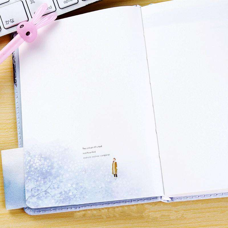 Travel Alone Faux Leather Notebook