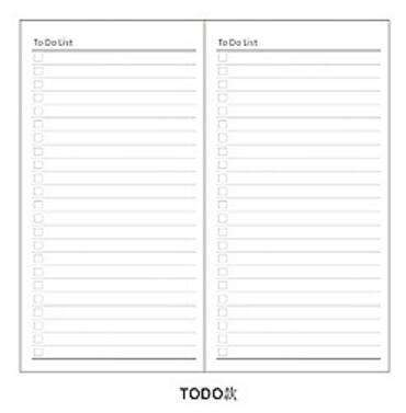 Midori Traveler's Notebook Refill - Dot Blank Grid Graph Ruled