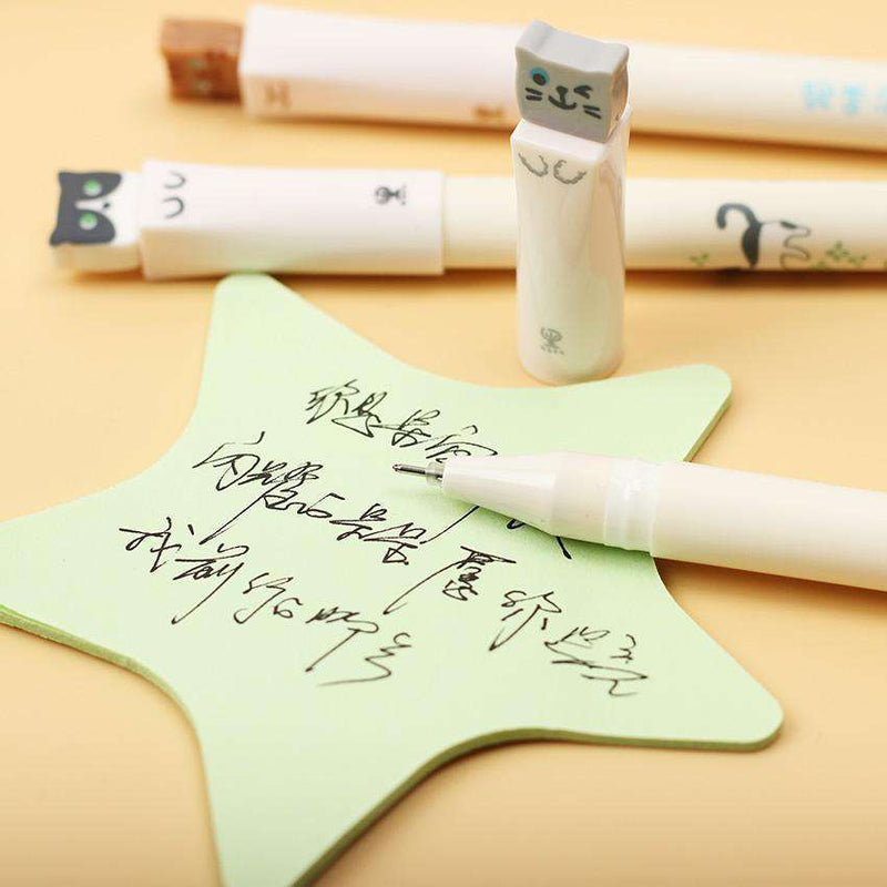 Set of 3 - Kawaii Cat Pens